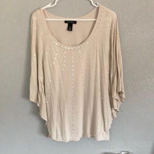 Glittery blouse